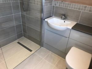 small wetroom